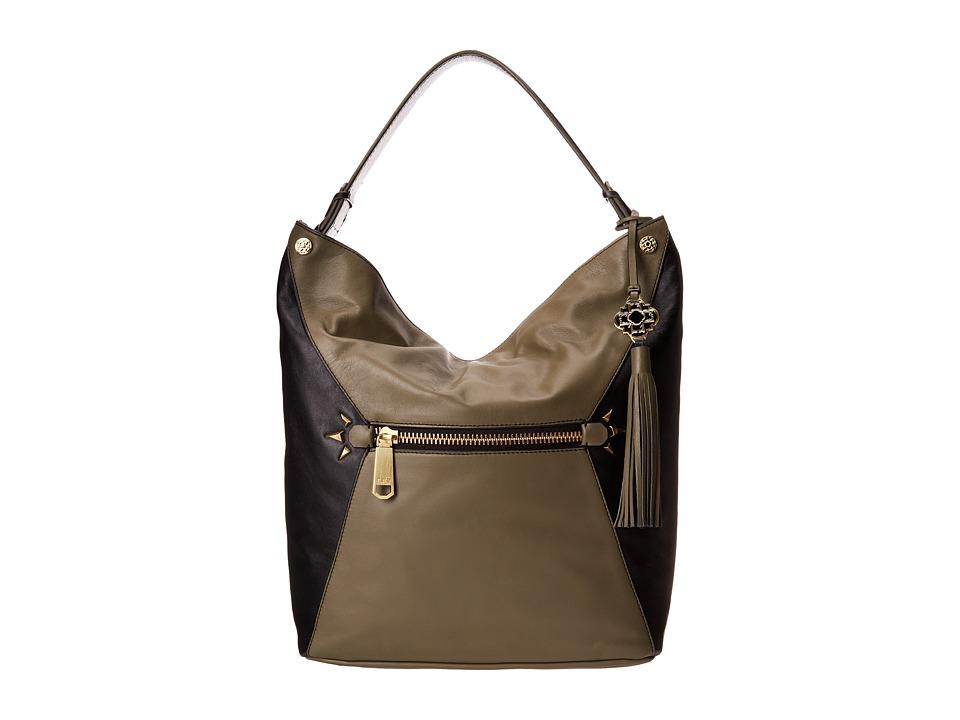 Rafe New York - Courtney Hobo (Olive/Black) Hobo Handbags