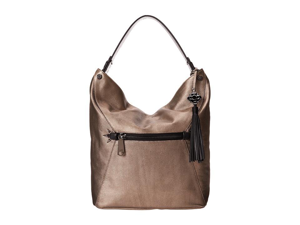 Rafe New York - Courtney Hobo (Gunmetal) Hobo Handbags