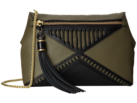 Rafe New York - Eva Cross-Body (Olive) Cross Body Handbags
