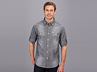 Seven7 Jeans - Chambray Shirt W Roll Cuff (Indigo Vintage) - Apparel
