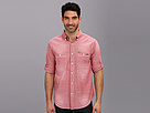 Seven7 Jeans - Chambray Shirt W Roll Cuff (Red Vintage) - Apparel