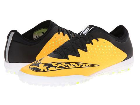 Nike - Elastico Finale III TF (Laser Orange/Volt/White/Black) Men's Soccer Shoes