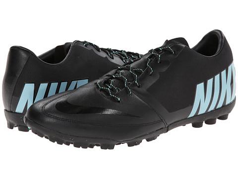 Nike - Bomba Pro II (Black/Hyper Turquoise/Hyper Turquoise) Men's Soccer Shoes