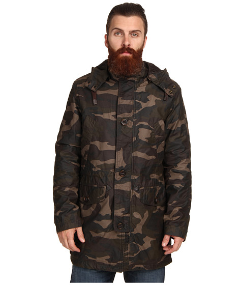 Cole Haan - Washed Military Parka (Java) Men