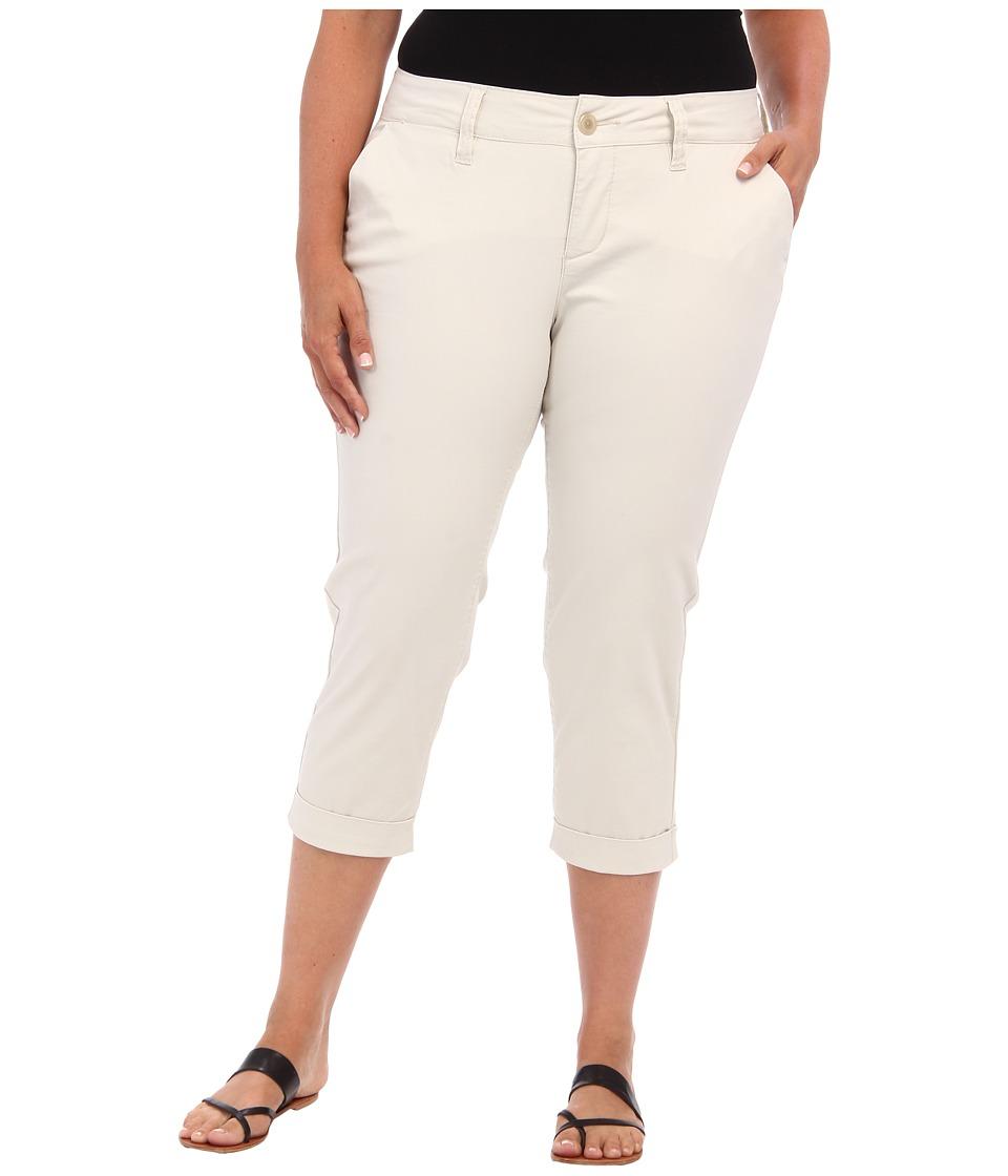 Jag Jeans Plus Size - Plus Size Cora Crop (Beach Sand) Women