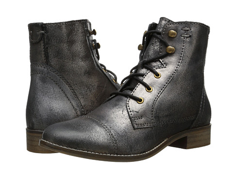 BC Footwear - Big City (Pewter Metallic) Women's Lace-up Boots