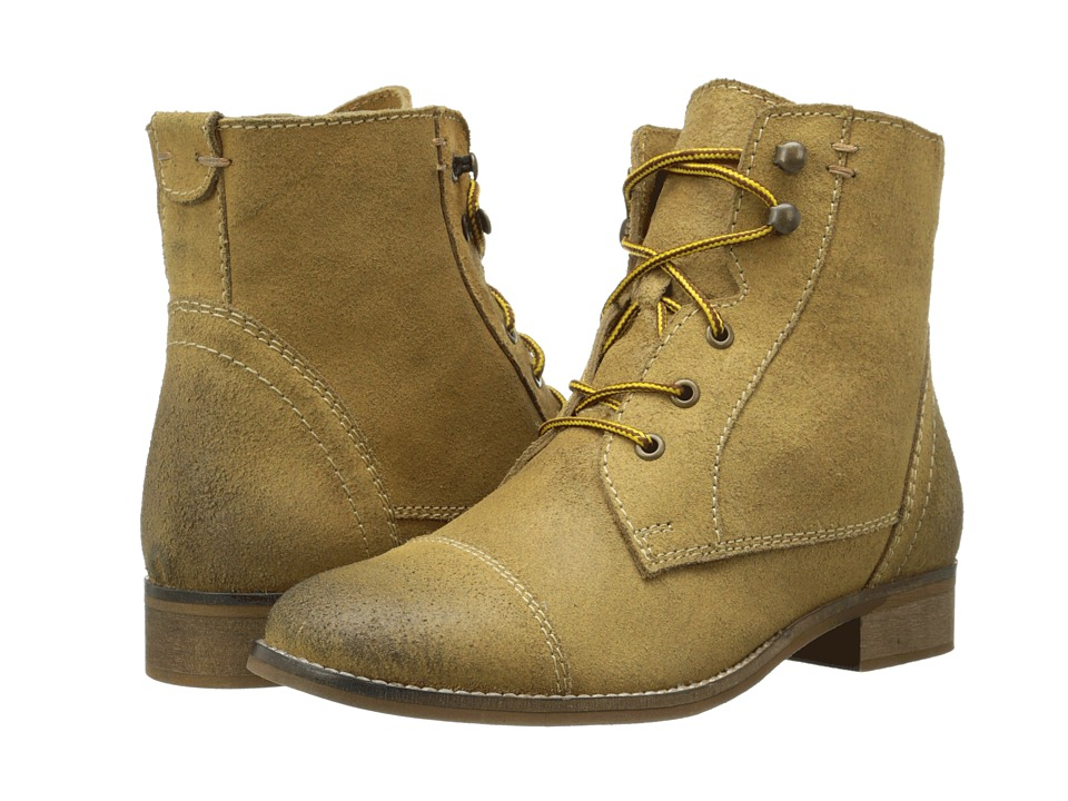 BC Footwear - Big City (Tan) Women's Lace-up Boots
