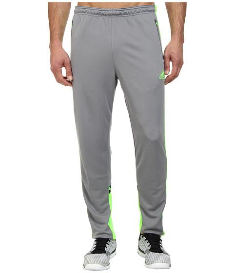adidas - Speedkick Condivo Pant (Grey/Solar Green) Men's Workout
