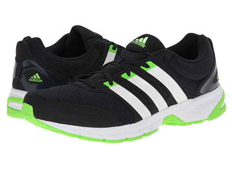 adidas Running - Madison RNR (Night Grey/Core White/Solar Green) Men