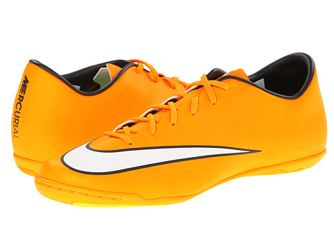 Nike - Mercurial Victory V IC (Laser Orange/Black/Volt/White) Men's Soccer Shoes