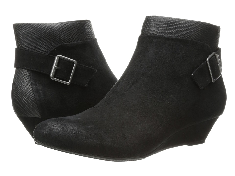 BC Footwear - Save Me (Black Suede) Women's Zip Boots