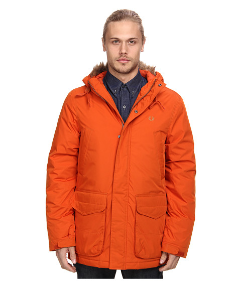 Fred Perry - Artic Down Parka (Burnt Copper) Men's Coat