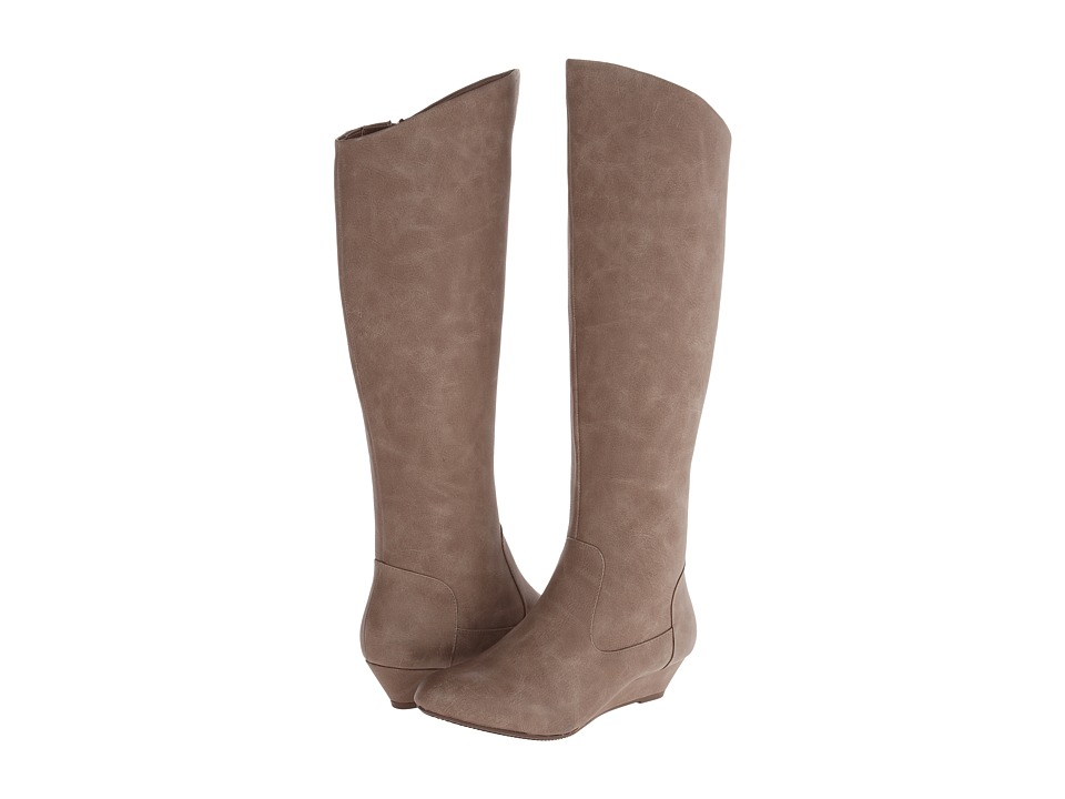 BC Footwear - Try to Explain (Taupe) Women's Zip Boots