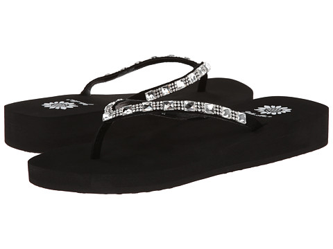 Yellow Box - Jewel (Black) Women's Sandals