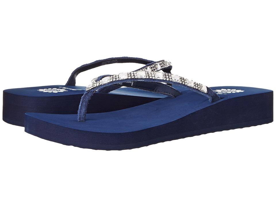 Yellow Box - Jewel (Navy) Women's Sandals