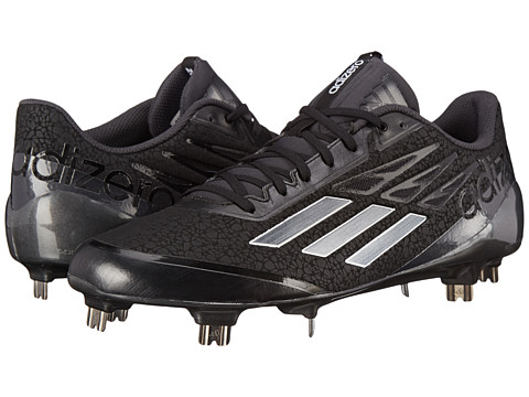 adidas - adiZero AfterBurner (Black/Carbon Metallic/Carbon) Men's Shoes