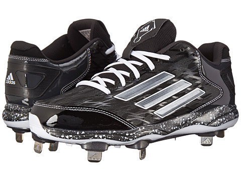 adidas - PowerAlley 2 (Black/Carbon Metallic/Carbon) Men