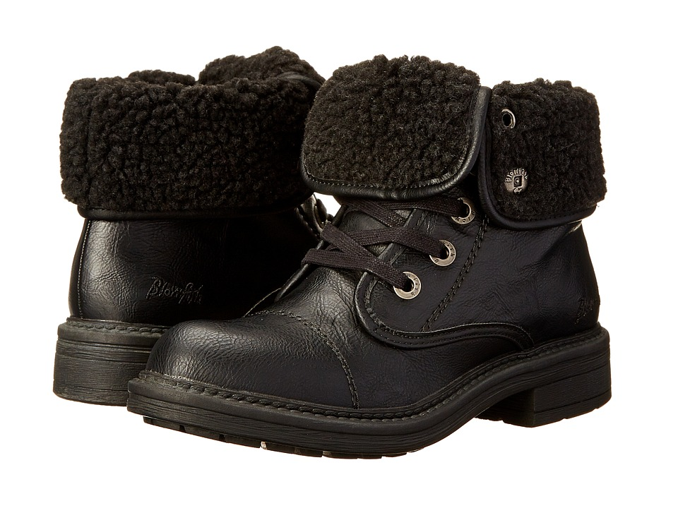 Blowfish - Farina (Black Old Saddle) Women's Lace-up Boots