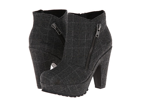 Blowfish - Valene (Black Oxford Tweed) Women's Dress Zip Boots