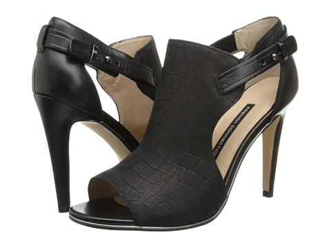 French Connection - Novella (Black/Black) High Heels