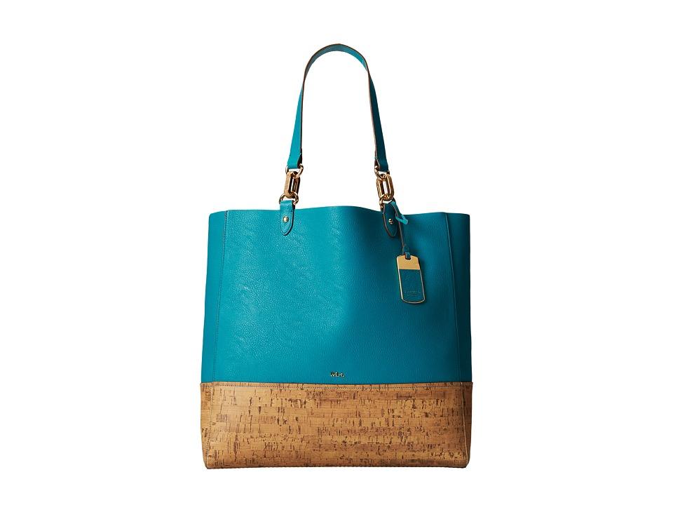 LAUREN Ralph Lauren - Bembridge Cork-Tote (Nilgiri Turquoise) Tote Handbags