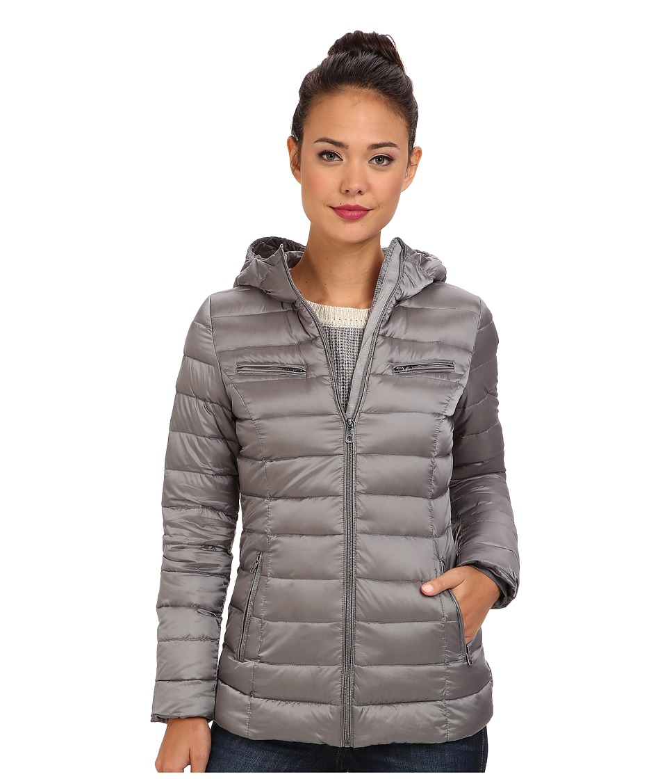 Cole Haan - Sweater Down Light Weight Packable w/ Hood (Paloma) Women