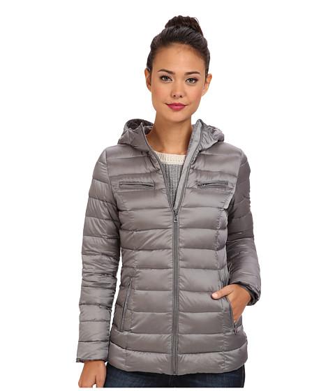 Cole Haan - Sweater Down Light Weight Packable w/ Hood (Paloma) Women