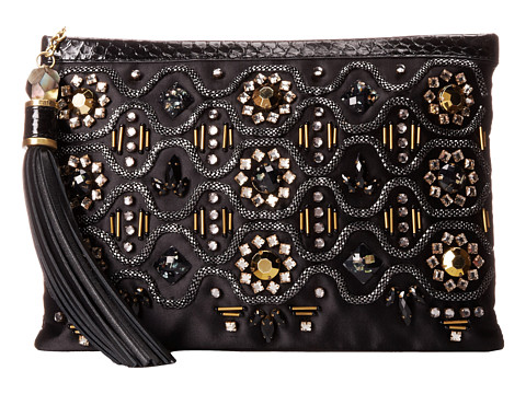 Rafe New York - Large Celia Clutch (Black) Clutch Handbags