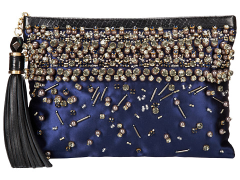 Rafe New York - Large Celia Clutch (Indigo) Clutch Handbags