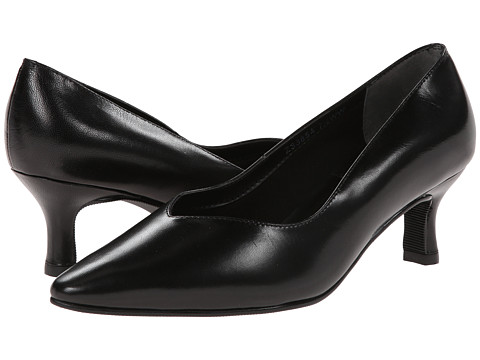 Fitzwell - Convert (Black Kid) Women's 1-2 inch heel Shoes
