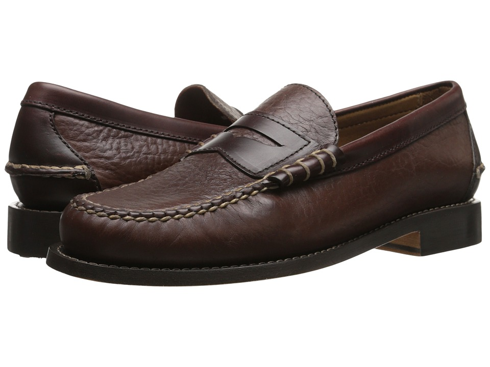 Trask - Heath (Bourbon American Bison/Dark Brown Steer) Men's Shoes