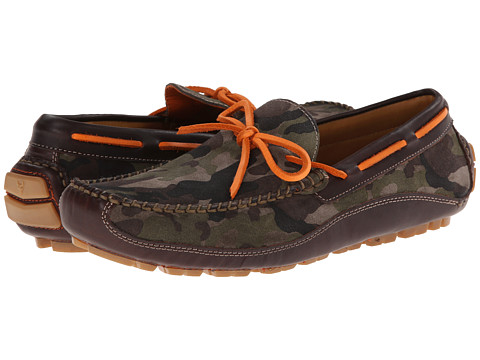 Trask - Drake (Camouflage Suede/Dark Brown Steer) Men's Shoes