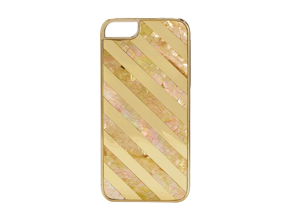Rafe New York - Iphone 5/5S Phone Case (Brownlip/Gold) Cell Phone Case