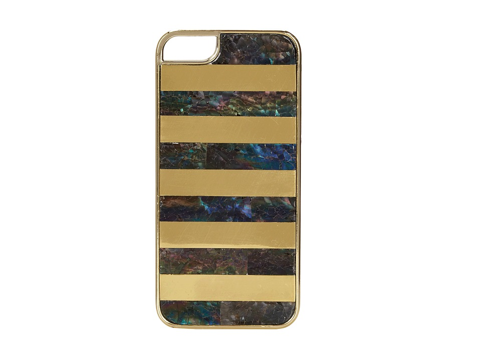 Rafe New York - Iphone 5/5S Phone Case (Rainbow/Gold) Cell Phone Case