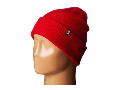 Nike - Beanie-Core Blue (Gym Red) Beanies