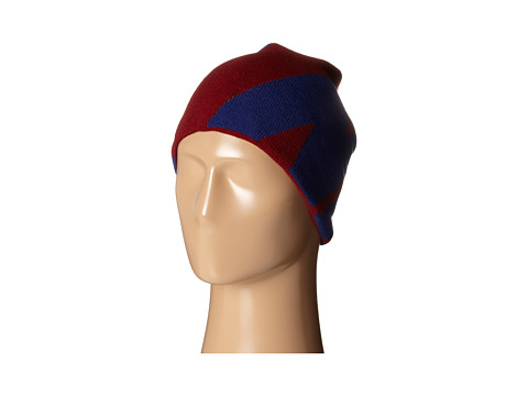 Nike - Beanie-Reversible (Team Red/Light Ash Grey/Deep Royal Blue) Beanies