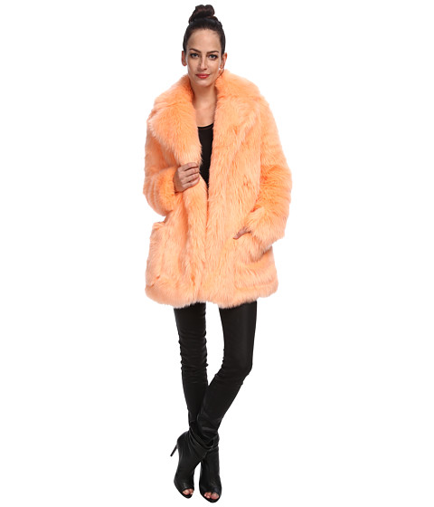 See by Chloe - Hairy Fur Coat (Pink) Women