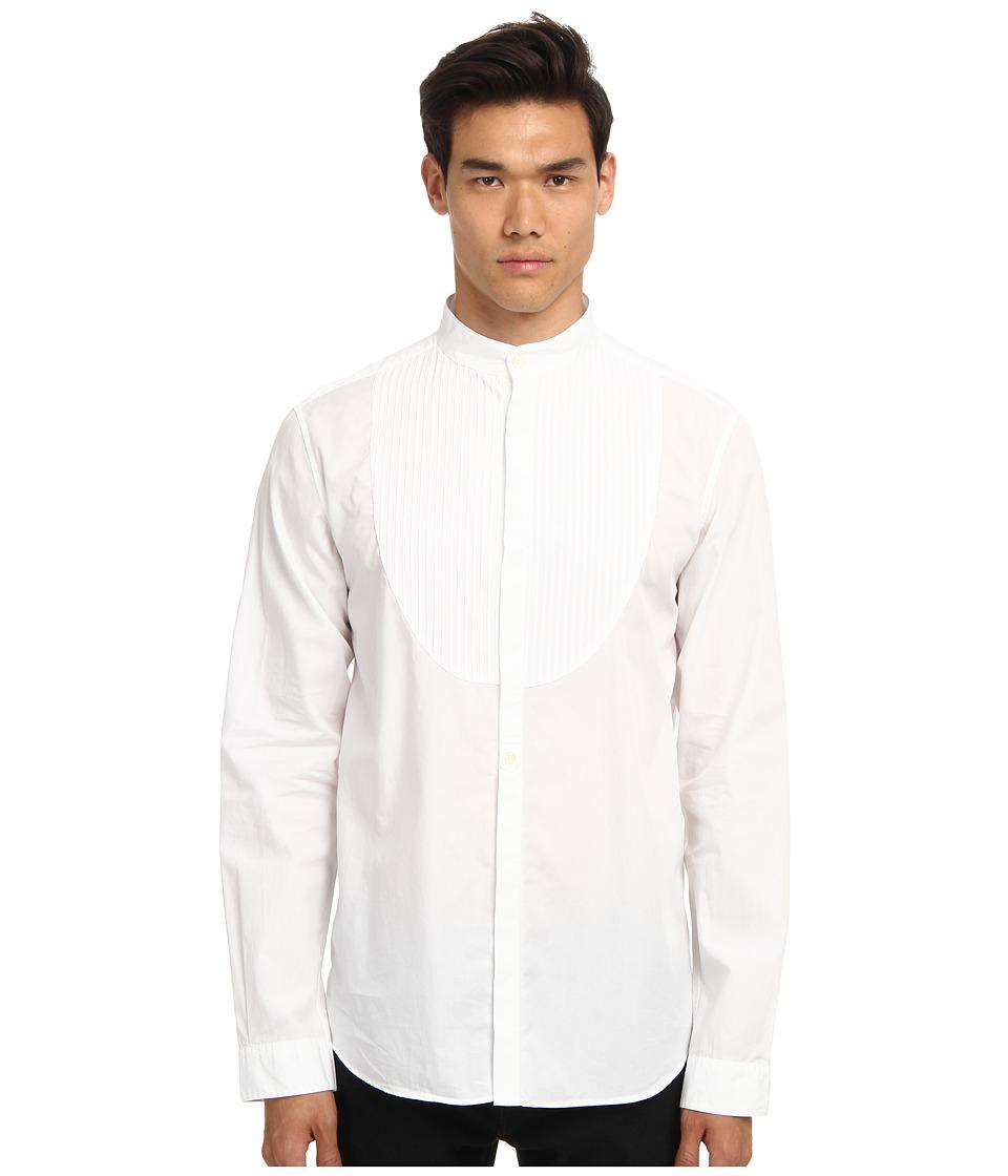 Pierre Balmain - Button Up (White) Men's Long Sleeve Button Up