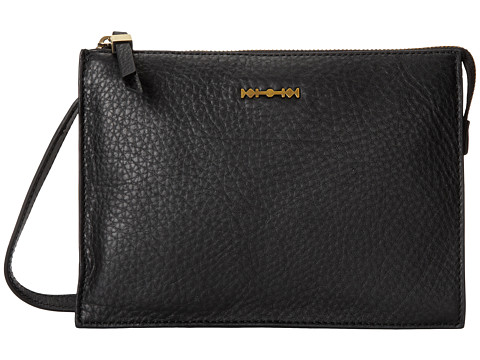McQ - Across Body (Black Grainy Leather) Cross Body Handbags