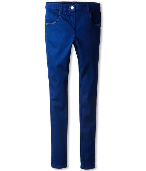Little Marc Jacobs - Slim Fit Stretch Denim Pants (Big Kids) (Denim Blue) Girl