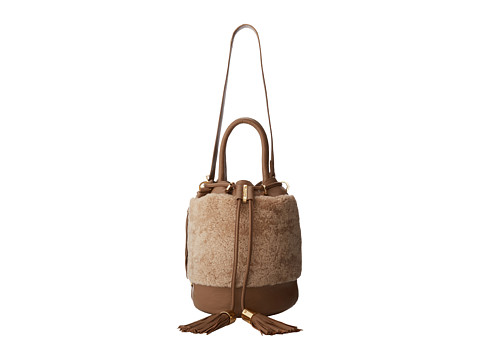 See by Chloe - Vicki Handcarry Bucket With Crossbody Strap (Natural) Shoulder Handbags
