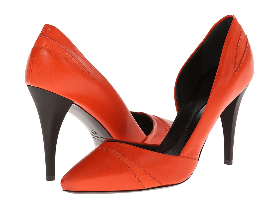 McQ - Lex Pump 90MM (Tangerine Soft Calf Leather) High Heels