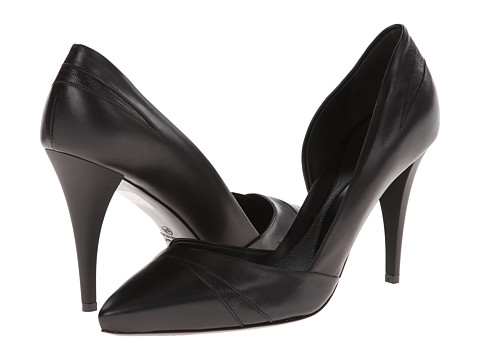 McQ - Lex Pump 90MM (Black Soft Calf Leather) High Heels