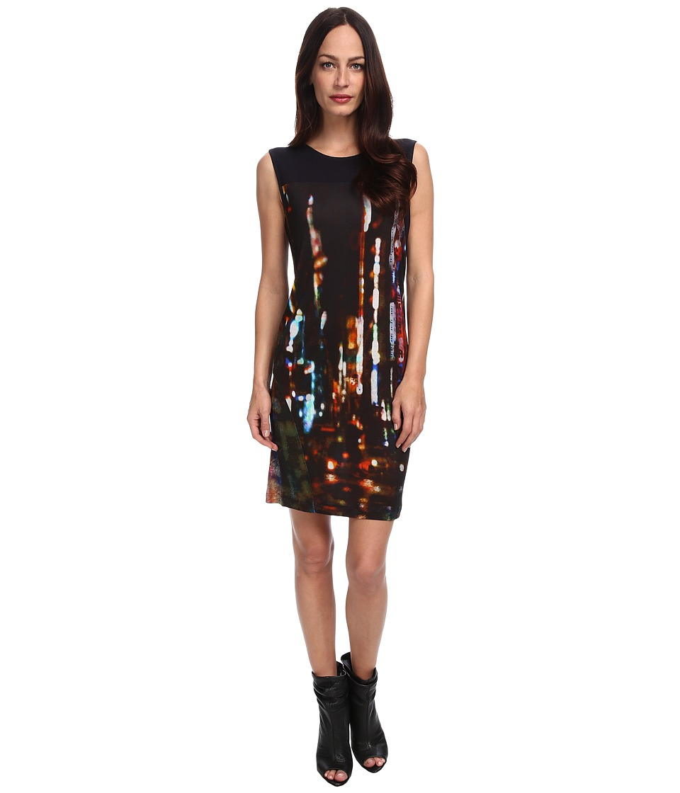 McQ - Blurry Lights-VO Volume Dress (Blurry Lights) Women's Dress