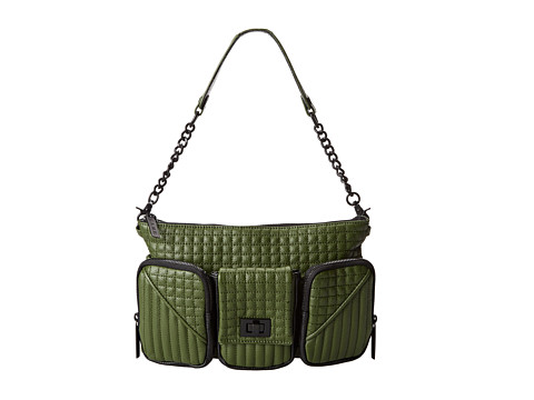 L.A.M.B. - Eden (Green) Shoulder Handbags