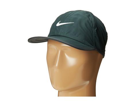 Nike - Featherlight Cap 2.0 (Seaweed/Anthracite/Black/White) Caps