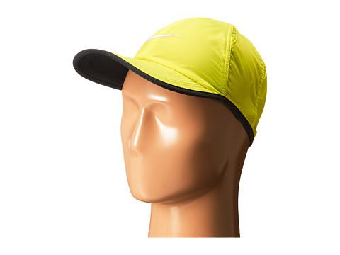 Nike - Featherlight Cap 2.0 (Volt/Black/Anthracite/White) Caps