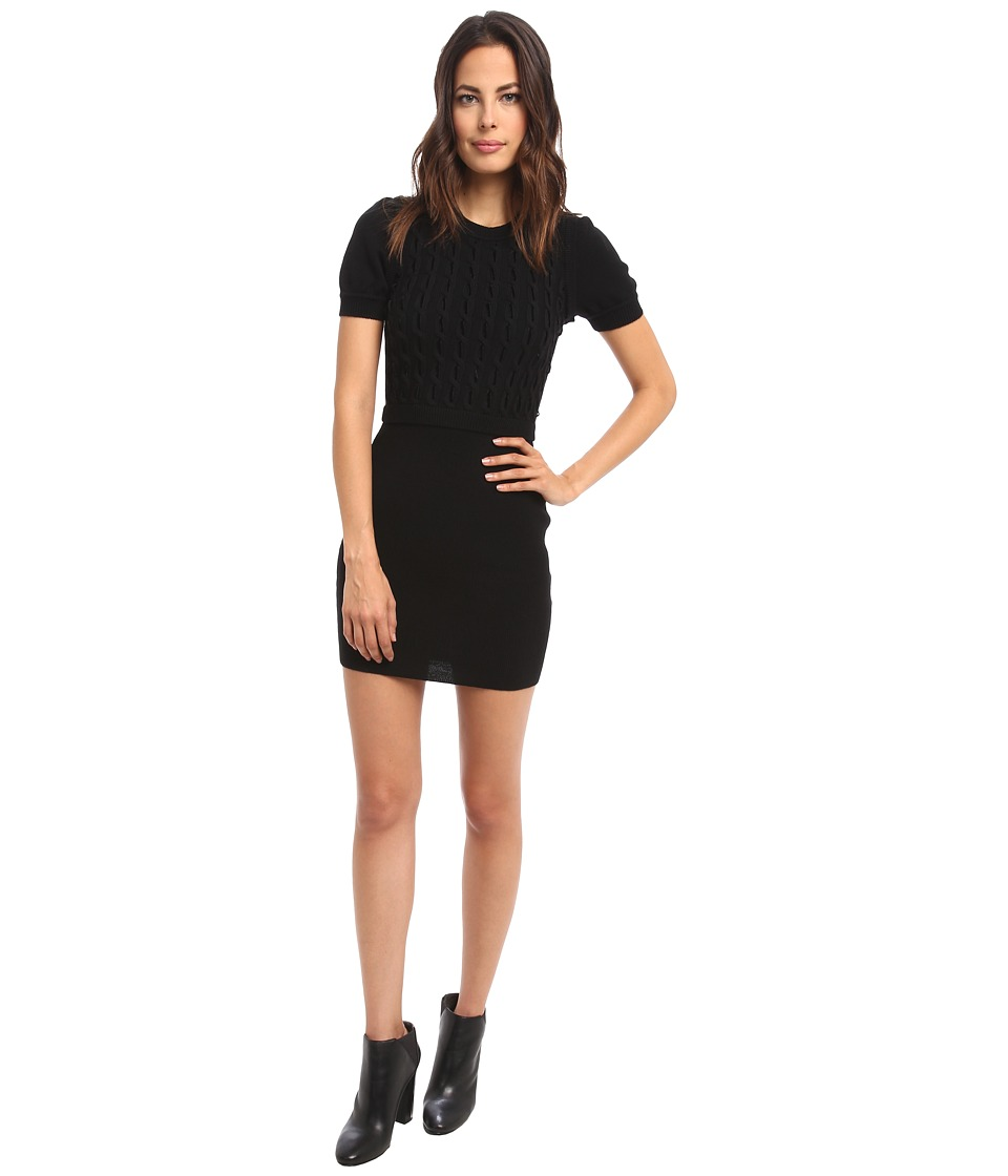 RED VALENTINO - Dress HRA9A3A5 (Black) Women's Dress