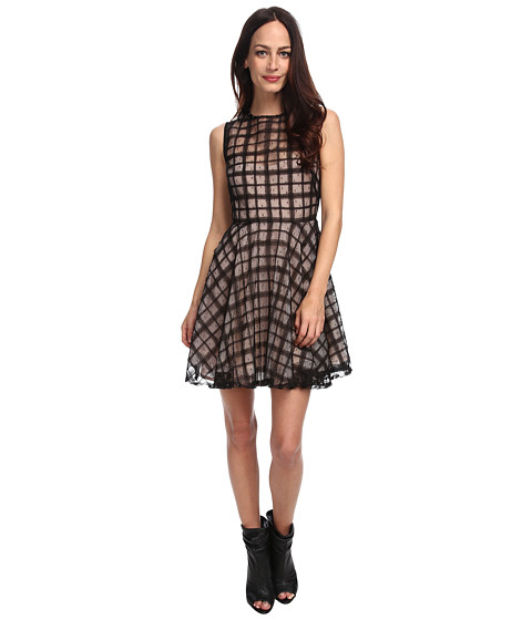 RED VALENTINO - Dress HRAVS30A (Black) Women's Dress
