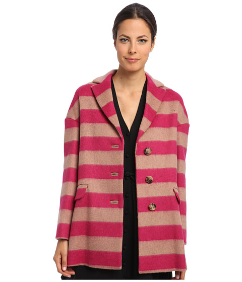 RED VALENTINO - Coat HR0493B5 (Ruby) Women's Coat